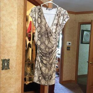 Jennifer Lopez Snakeskin dress m